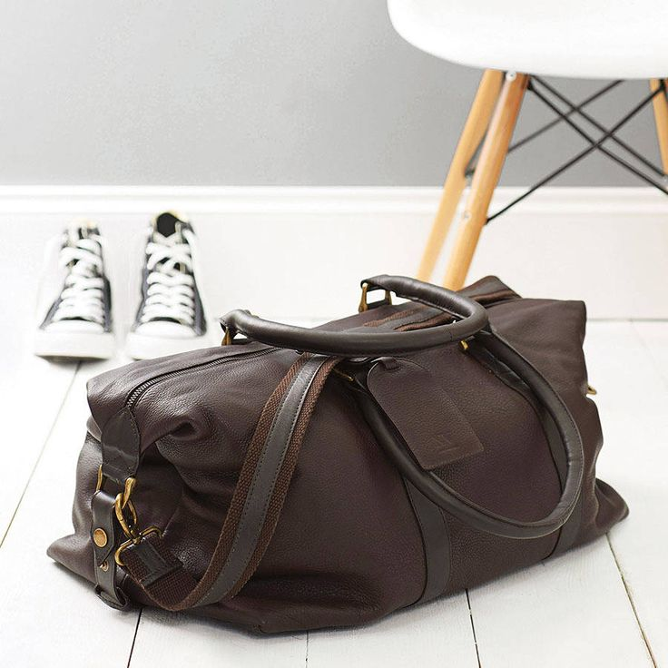 Our Anthony is an absolutely stunning, leather weekend holdall. A handmade piece…