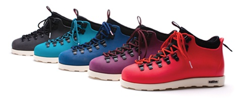 Very cool boots.  Fitzsimmons by Native Shoes