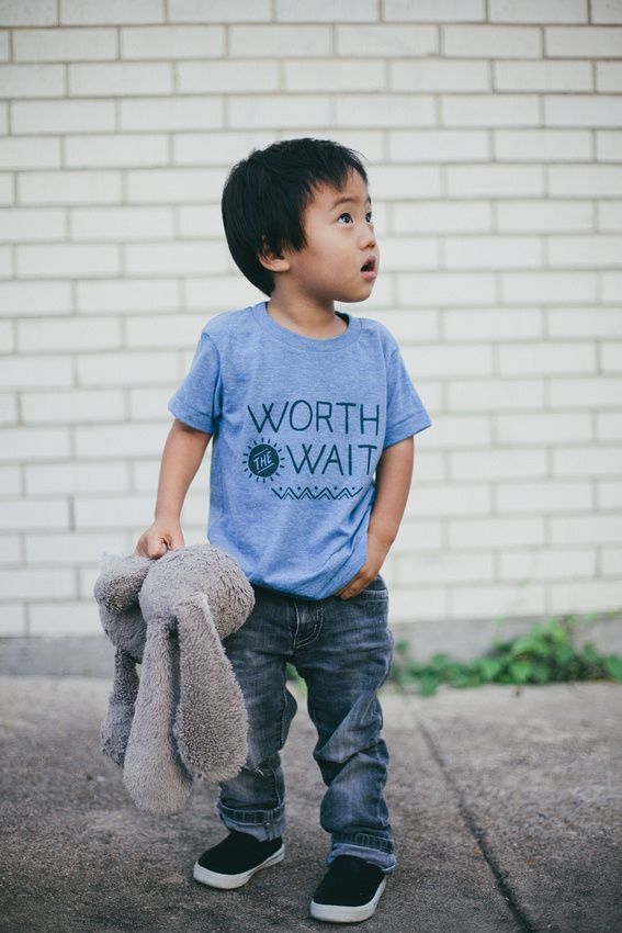 Love is Waiting   Adoption Tees! We give 20% of sales to a new family in the adoption process each week!