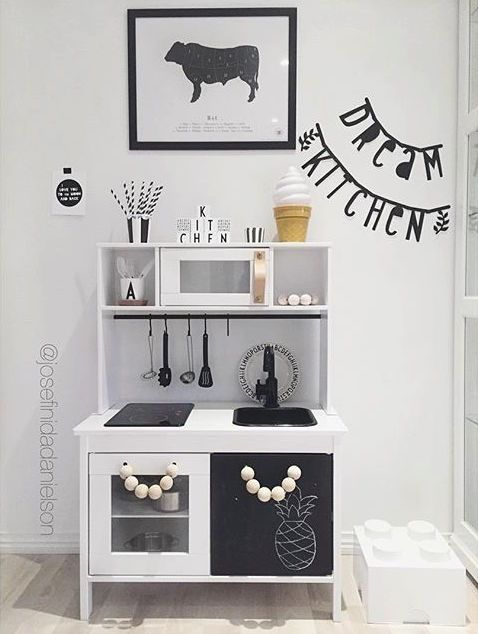 Mommo Design Ikea Duktig Hacks Kid Decor Ikea Play Kitchen
