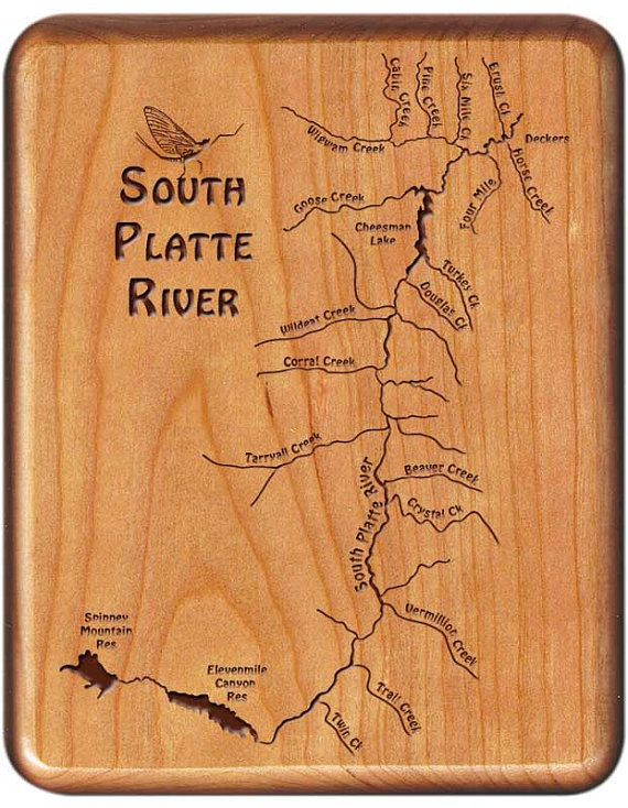 330 best fly fishing river map fly boxes custom fly for South platte river fishing