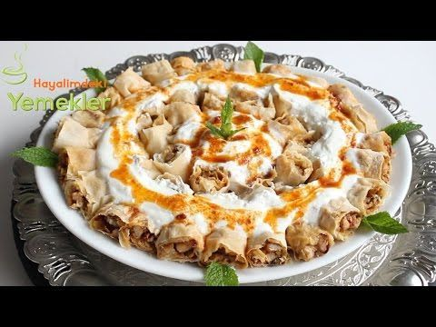 Yoğurtlu Sultan Kebabı -  Hayalimdeki Yemekler - YouTube
