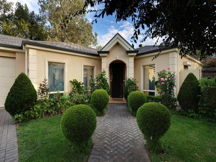 Photo of a pavers house exterior from real Australian home - House Facade photo 1378428