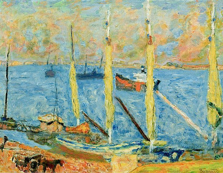 Pierre Bonnard / The Port of St. Tropez, 1930
