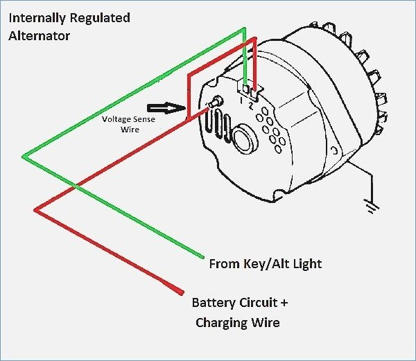 1 Wire Alternator Diagram Alternator Diagram Wire