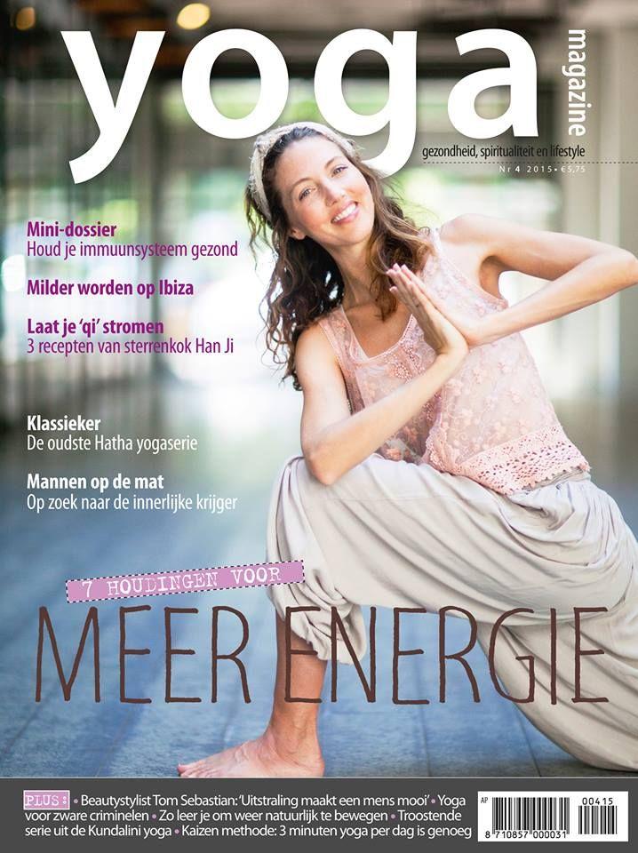 Yoga Magazine 2015 - 4 Zeven houdingen voor meer energie.