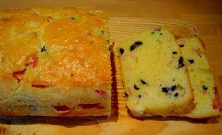 Las recetas de Clavo y Canela: Bizcocho salado de Jamón York, Aceitunas, y Queso ...