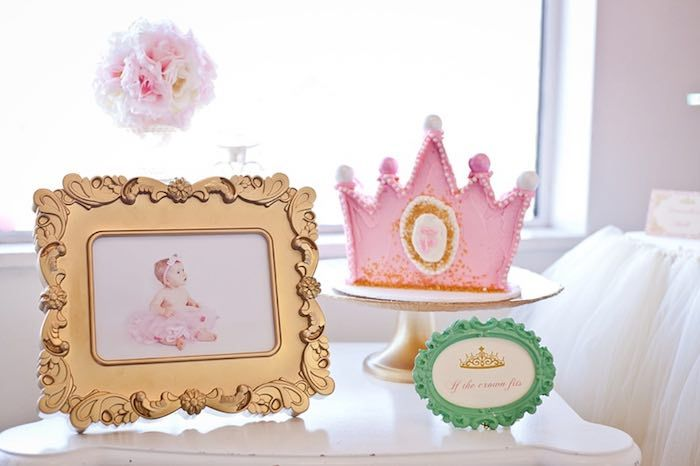 kids party inspired party 1st birthday parties royal princess birthday ...