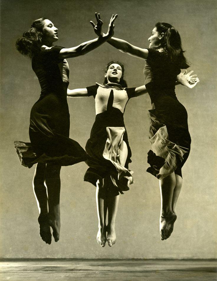Trio-Dudley-Maslow-Flier, 1930s byBarbara Morgan