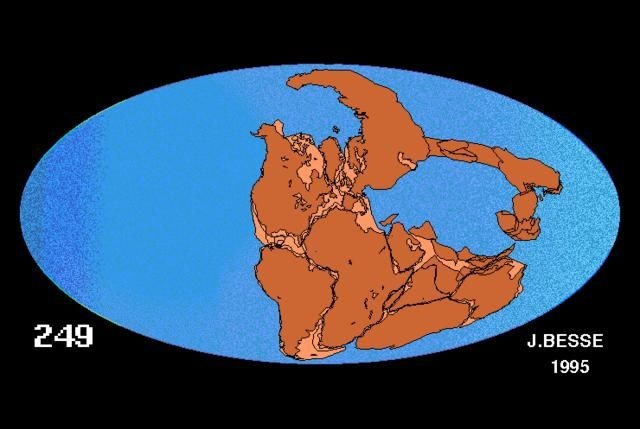 After briefly discussing about Pangaea, this video can be shared to the students to show how Pangaea was broken apart.