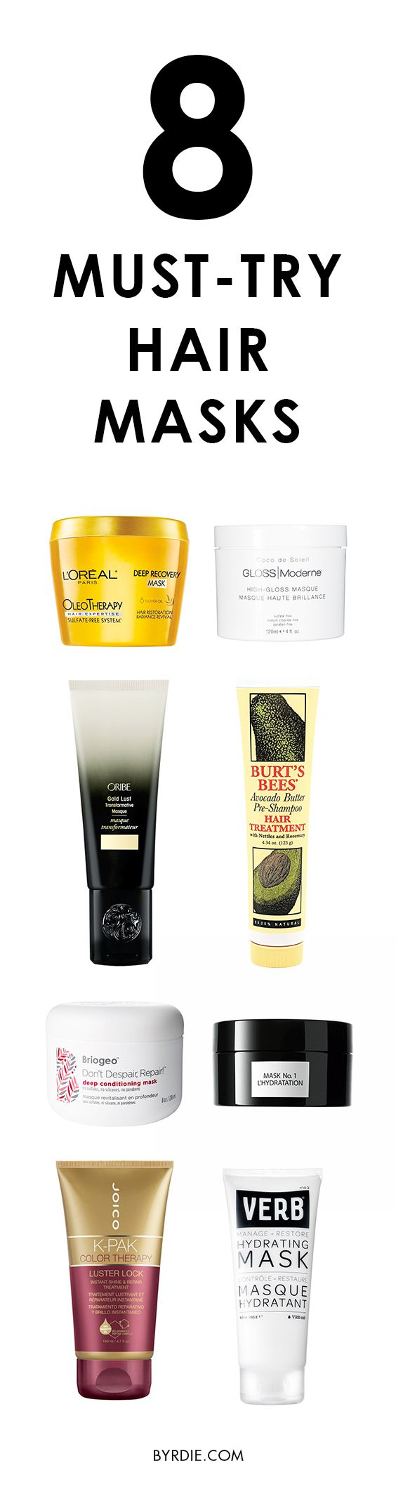 The best hair masks on the market