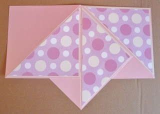 The Crafty Pad: Tutorial - How to make a Teepee Card..