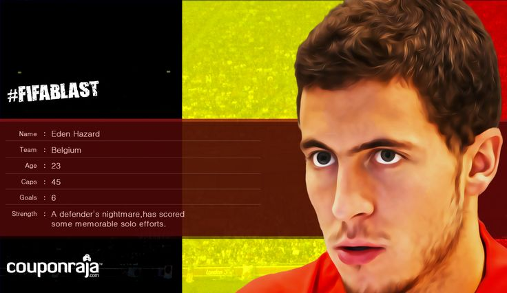 Eden Hazard from #Belgium is a defender's nightmare and has scored some memorable solo efforts!