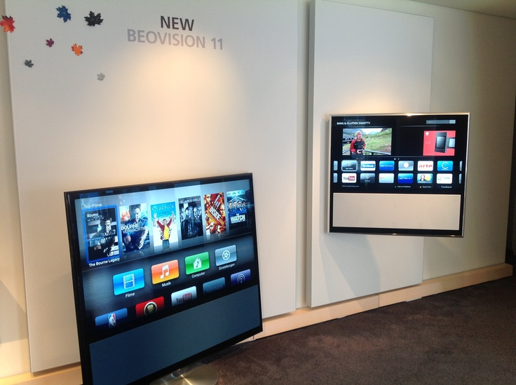 BeoVision 11 - ein bunter Strauss unglaublicher  neuer Möglichkeiten. Von der Bedienung via iPad bis hin zum eingebauten AppleTV und den SmartTV-Funktionen bleibt kein Wunsch offen. Laut der renomierten Fachzeitschrift HDTV der derzeit beste Fernseher...