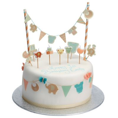 Check this out!! The Kitchen Gift Company have some great deals on Kitchen Gadgets & Gifts Baby Cake Toppers & Bunting Set #kitchengiftco