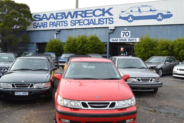 Saabwreck is the largest SAAB wreckers in Melbourne.