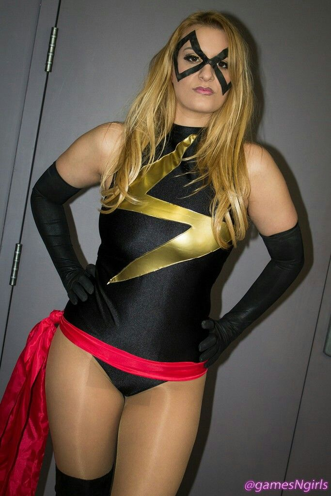 Ms Marvel Cosplay Leotards And Tights Tights