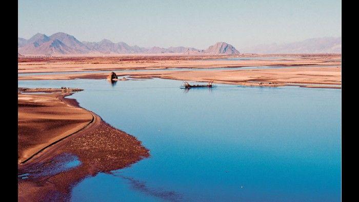 Rio Brahmaputra, que atravessa a China, Índia e Bangladesh.
