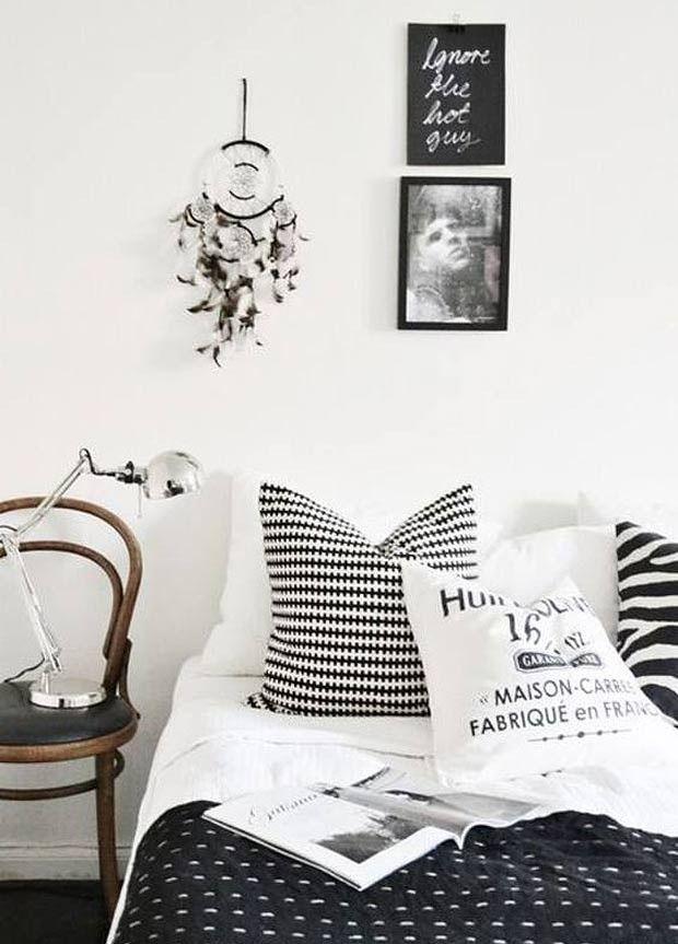 quarto-cama-parede (Foto: Reprodução/Pinterest)