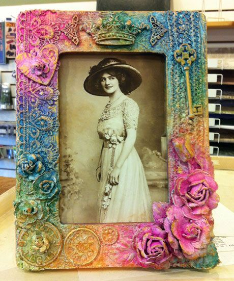 Candy creates. Altered frame