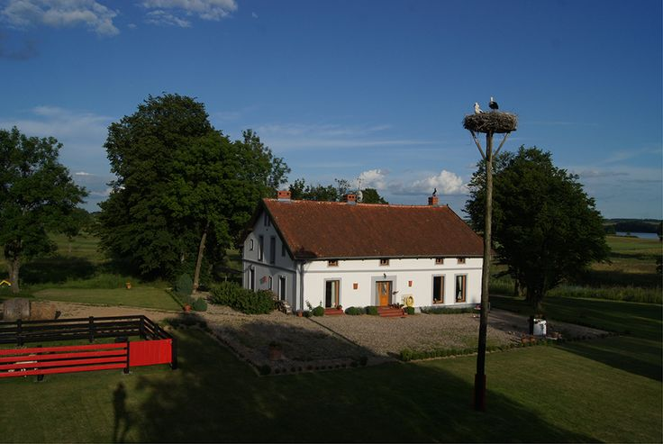 The house in Blanki 46, Poland