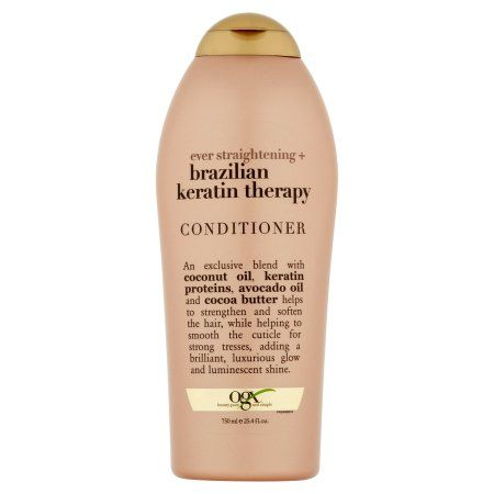 Ogx Ever Straightening + Brazilian Keratin Therapy Conditioner 25.4fl.oz