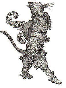 Gustave Doré (1832-1886) Ilustração para o conto O Gato de Botas de Charles Perrault
