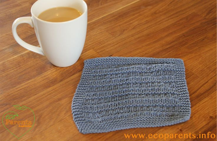 This reusable knitted dish cloth is amazingly effective. It rinses clean, is not abrasive and and gets into every crevice. Just pop in into the wash with the laundry every other day. It's good to have two in rotation.