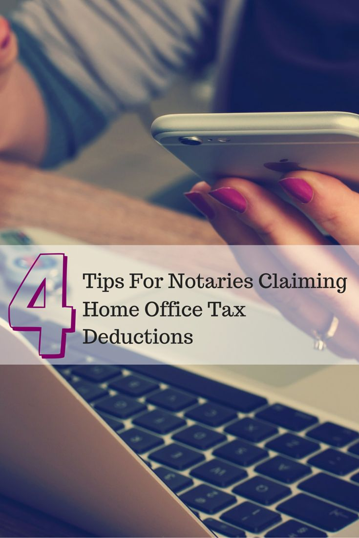 Tax research analyst Jackie Perlman has 4 tax tips to help Notaries who are claiming home office deductions this year.