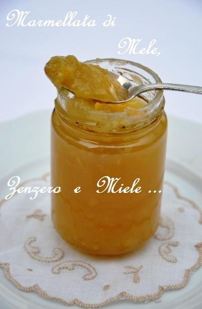 Paprika & Paprika: 13.Marmellata di mele e zenzero_ Gyombères almalekvàr
