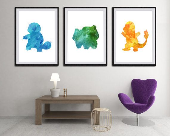 Hey, I found this really awesome Etsy listing at https://www.etsy.com/uk/listing/236484090/set-of-3-pokemon-starter-watercolor-art