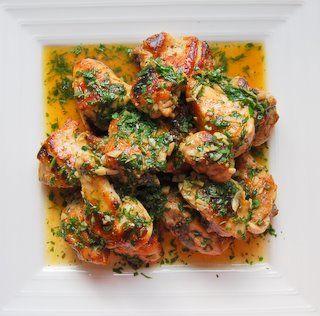 garlic chicken, pollo al ajillo,,,oh yea