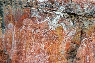 Australian Aboriginal: Nourlangie Rock, Kakadu National Park, Northern Territory, Australia