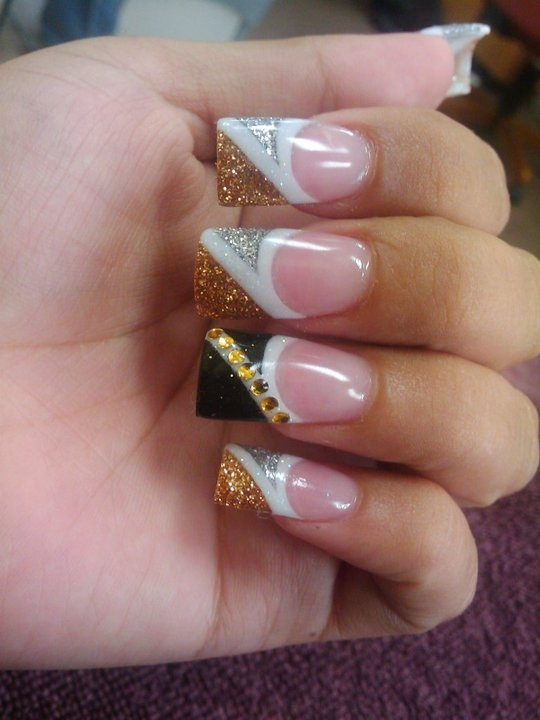 49 best diseos uas acrilicas con glitter y piedras images on vegas nails one year prinsesfo Choice Image