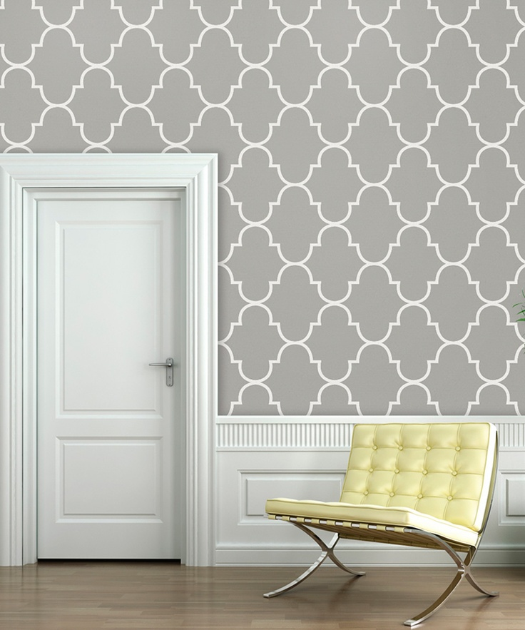 Silly Putty Classic Trellis Wallpaper Decal   Daily deals for moms, babies and kids