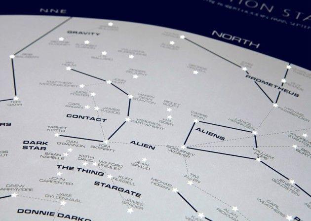 La mappa delle stelle (della fantascienza) by Dorothy - #sci-fi #starsmaps