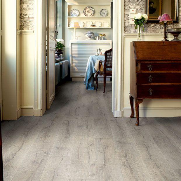 60 best images about plancher on pinterest - Parquet blanc vieilli ...