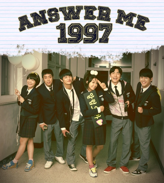 Answer Me 1997/Reply 1997 (Korean 2012) Jung Eun Ji, Seo In Guk, Eun Ji Won, Hoya, Sung Dong Il, and Lee Il Hwa. Drama about a bunch a kids, and how they grew up. FUn and ridiculous, and sad, and ridiculous. and Precious. I fell hard for Seo In Guk, and I always Loved Hoya. This was so precious, and Demented, and awesome. Absolutely a favourite. the end T~T