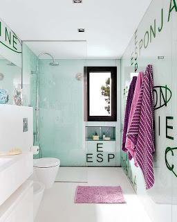 Tips para decorar un baño para adolescentes