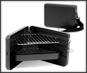Darwin Triangular Bbq Portable Bbq Portable Grill Barbecue Grill