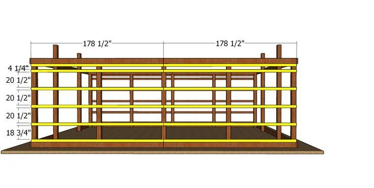 20×30 Pole Barn - Free DIY Plans in 2020 | Diy plans ...