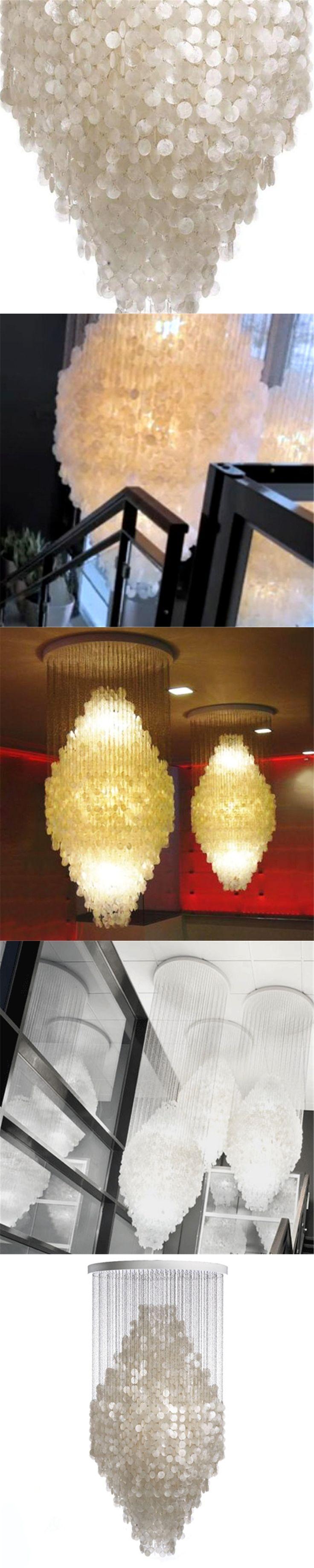 Best 25 Capiz shell chandelier ideas on Pinterest