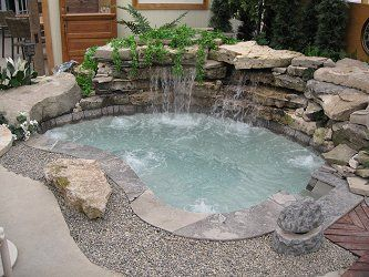 Best 25 backyard hot tubs ideas on pinterest hot tub for Pool design london ontario