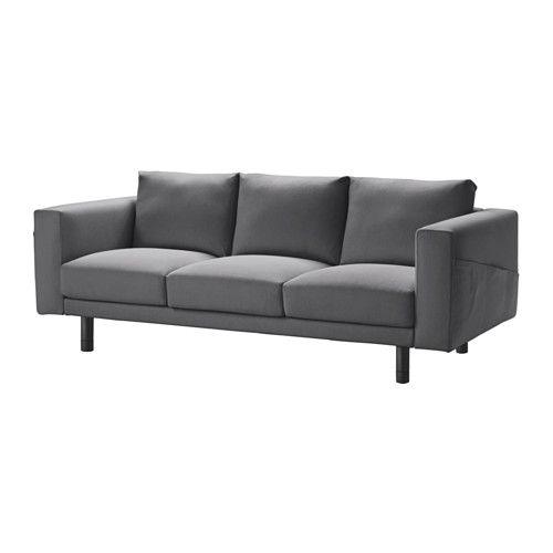 IKEA NORSBORG three-seat sofa 10 year guarantee. Read about the terms in the guarantee brochure.