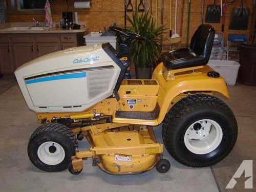 CUB CADET MOWER/SUPER GARDEN TRACTOR- 20 H.P. V- TWIN for sale in ...