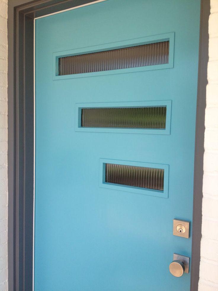 25 Midcentury Exterior Design Ideas: Best 25+ Midcentury Front Doors Ideas On Pinterest