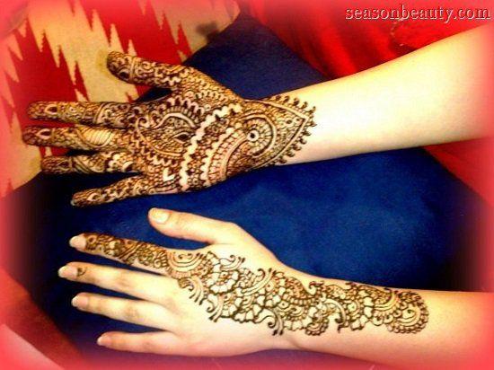 10 Beautiful Bengali Mehndi Designs