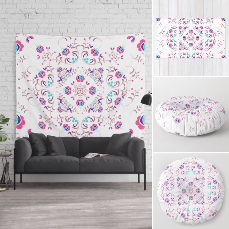 Your home is unique, so your accent wall should be just as special. You can find beautiful items for a clever way to personalize your home, on my society6 store. Link in the bio! . #elegantdecor #elegantdesign #society6 #throwpillows #mandalaart #rosegold #dahlia #folkart #pillowtalk #pillowcase #homedecor #homestyle #stylehunter #momlifestyle #familynight #cozyhome #cozybedroom #giftideasforher #girlboss #designed #hungarian #folklore #xmasgifts #walldecor #walltapestry #interiordecorating