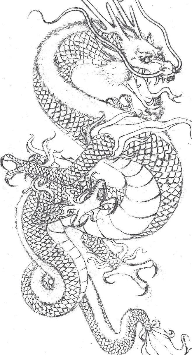 45 amazing japanese tattoo designs tattoo easily - Find This Pin And More On T A T T O O S Japanese Dragon By Cmcyo