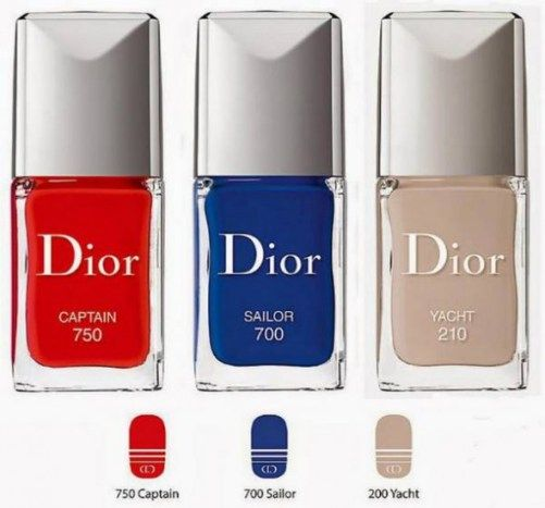 Dior MakeUp Summer 2014 Transat Collection